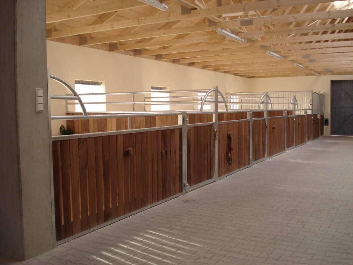 horse stalls