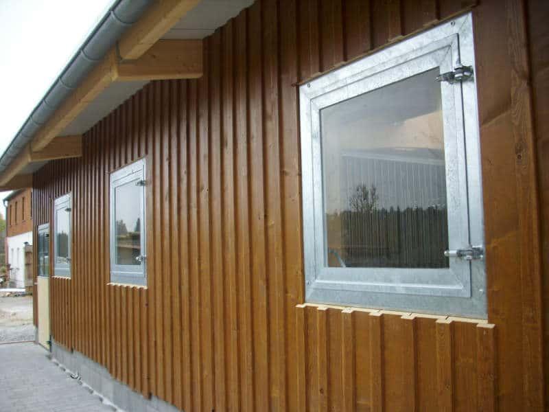 Pferdeboxen- Pferdestallfenster