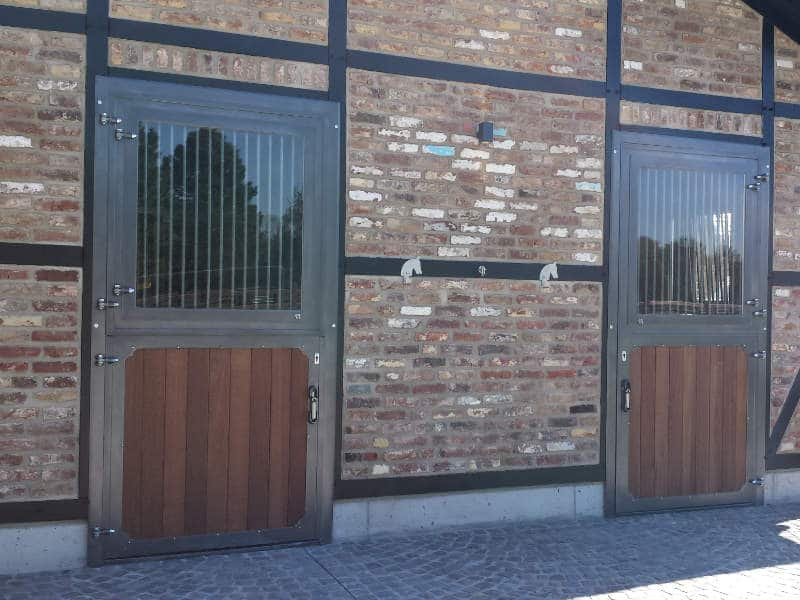 horse stalls- doors with special measurements