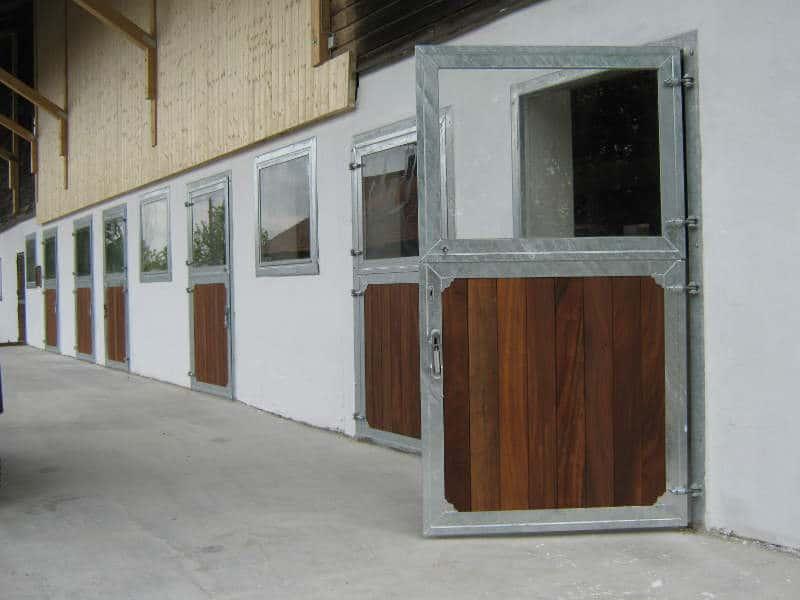 horse stalls- standard doors